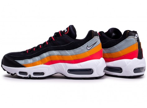 air max 95 orange et noir