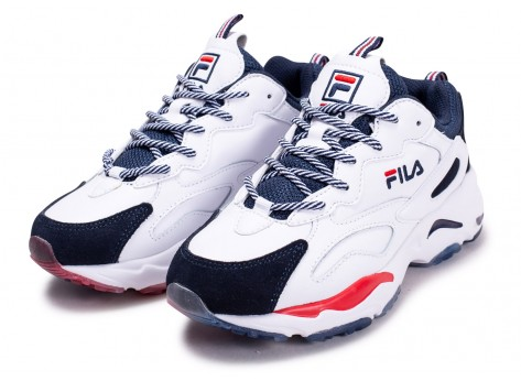 Chaussures Fila Ray Tracer blanche junior vue intérieure