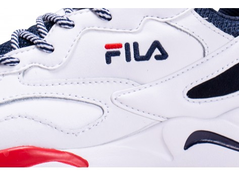 Chaussures Fila Ray Tracer blanche junior vue dessus