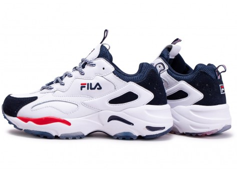 Chaussures Fila Ray Tracer blanche junior vue extérieure