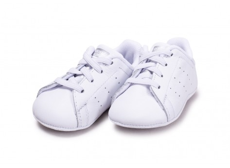 Chaussures adidas Stan Smith blanche diamant Crib vue intérieure
