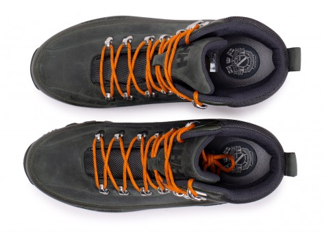 Chaussures Helly Hansen The Forester kaki vue arrière