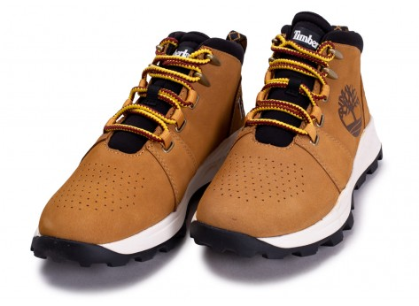 Chaussures Timberland Brooklyn City Mid marron vue intérieure