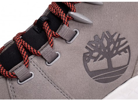 Chaussures Timberland Brooklyn grise vue dessus