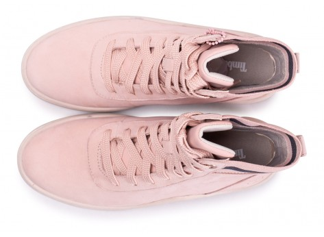 Chaussures Timberland Ruby Ann rose femme vue arrière