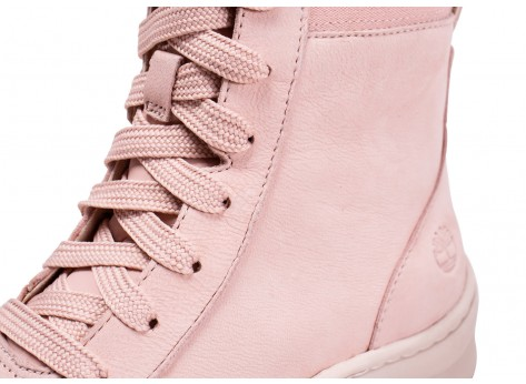 Chaussures Timberland Ruby Ann rose femme vue dessus