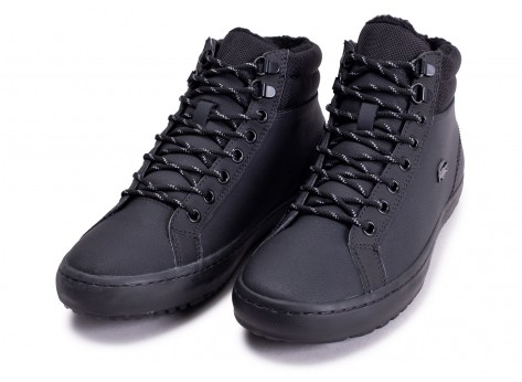 Chaussures Lacoste Straightset Thermo noire vue intérieure