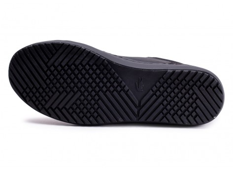 Chaussures Lacoste Straightset Thermo noire vue avant