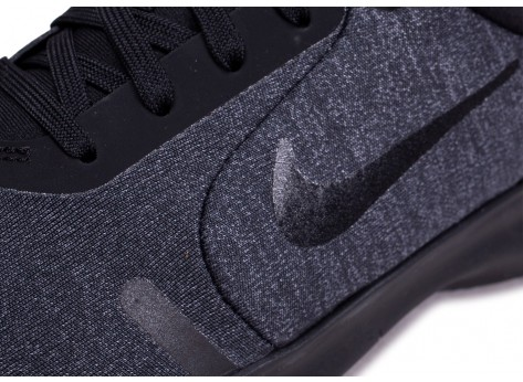 Chaussures Nike Flex Experience RN 8 noire anthracite vue dessus