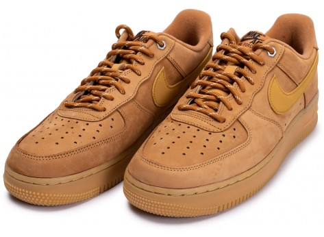 Chaussures Nike Air Force 1'07 Flax WB vue intérieure