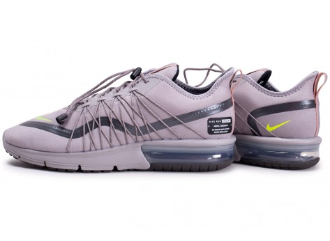 Chaussures Nike Air Max Sequent 4 Shield grise vue extérieure