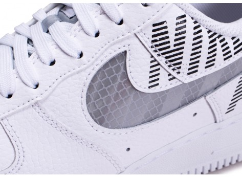 Chaussures Nike Air Force 1 Under Construction  vue dessus