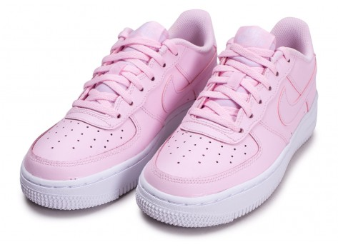 Chaussures Nike Air Force 1 rose junior vue intérieure