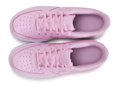 Chaussures Nike Air Force 1 rose junior vue arrière