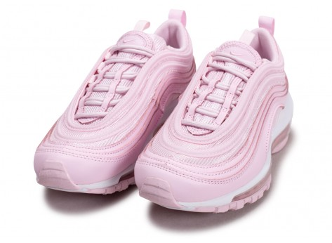 Chaussures Nike Air Max 97 rose Junior vue intérieure