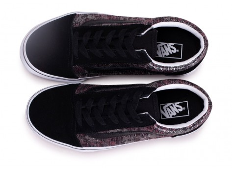 Chaussures Vans Old Skool Leopard Mesh junior vue avant
