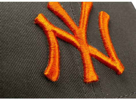 Casquettes New Era Casquette Essential 9/40 New York Yankees kaki et orange