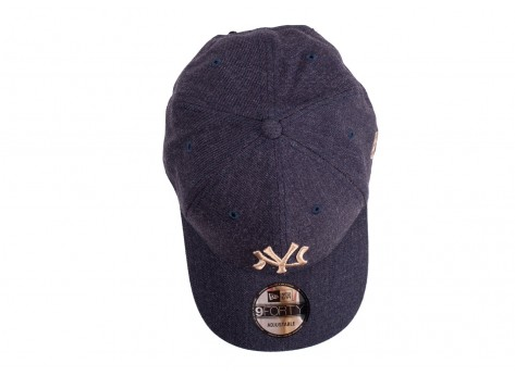 Casquettes New Era Casquette 9/40 Heather bleue
