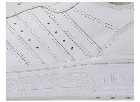 Chaussures adidas Rivalry Low blanc vue dessous