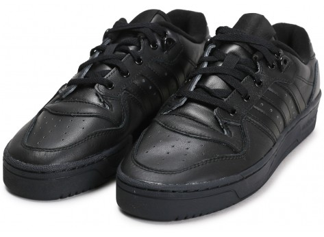 Chaussures adidas Rivalry Low noir vue intérieure