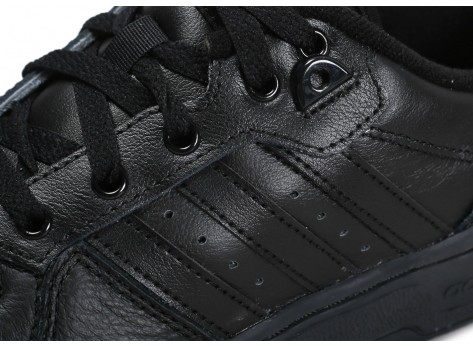 Chaussures adidas Rivalry Low noir vue dessus