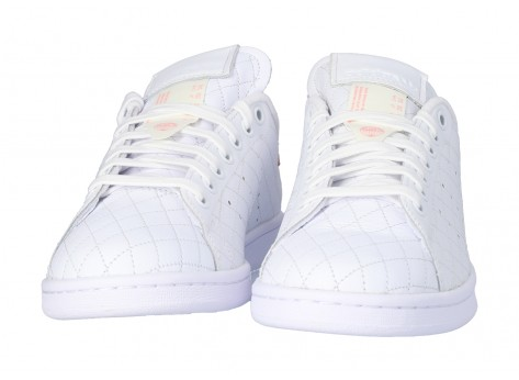 Chaussures adidas Stan Smith Cloud white Glory Pink vue dessous