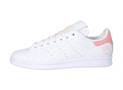 Chaussures adidas Stan Smith Cloud white Glory Pink vue intérieure
