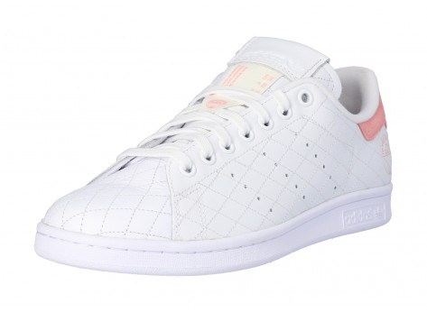 Chaussures adidas Stan Smith Cloud white Glory Pink vue avant