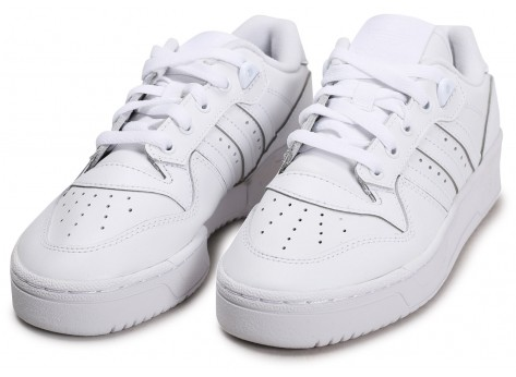 Chaussures adidas Rivalry Low blanc junior vue intérieure