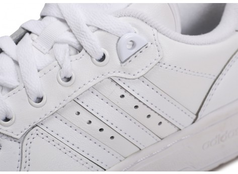 Chaussures adidas Rivalry Low blanc junior vue dessus