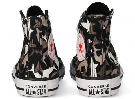 Chaussures Converse Chuck Taylor All Star Shark Bite Enfant vue avant