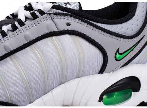 Chaussures Nike Air Max Tailwind IV gris vert vue dessus