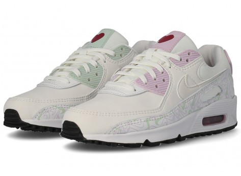 Chaussures Nike Air Max 90 Valentine's Day Femme vue extérieure