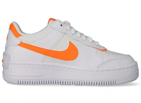 nike air force 1 orange blanche