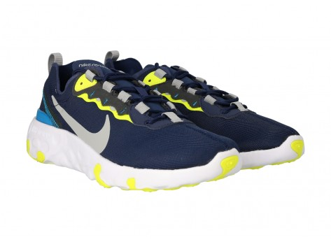 Chaussures Nike Renew Element 55 Midnight Navy GS vue intérieure