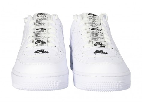 Chaussures Nike Air Force 1 07 LV8 Double branding vue arrière