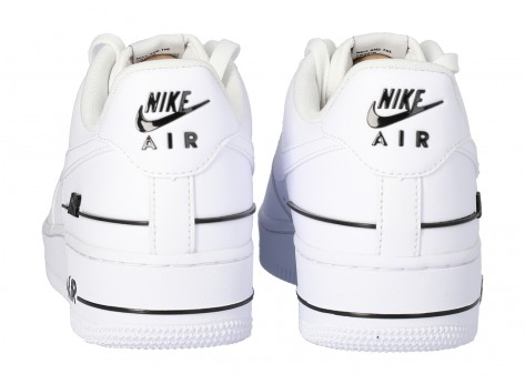 Chaussures Nike Air Force 1 07 LV8 Double branding vue dessus