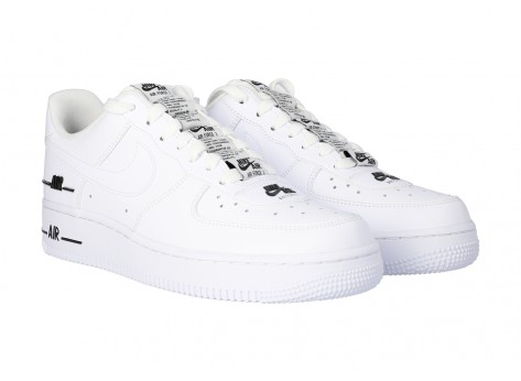 Chaussures Nike Air Force 1 07 LV8 Double branding vue dessous
