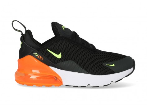 nike air max 270 en orange enfant