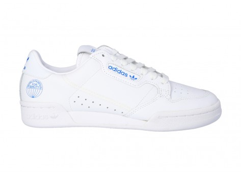 Chaussures adidas Continental 80 WORLD FAMOUS vue dessus