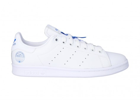 Chaussures adidas Stan Smith WORLD FAMOUS vue dessous