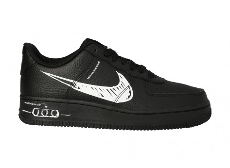 Chaussures Nike Air Force 1 Utility SKETCH vue dessus