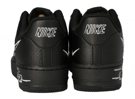 Chaussures Nike Air Force 1 Utility SKETCH vue dessous