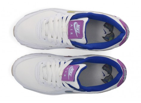 Chaussures Nike Air Max 90 SE Easter vue dessus