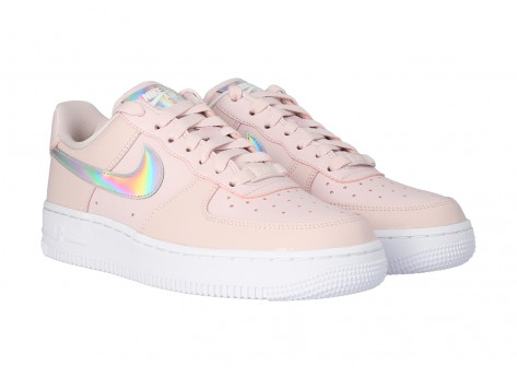Chaussures Nike Air Force 1 Barely rose vue avant