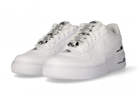 Chaussures Nike Air Force 1 Double branding Junior vue dessous