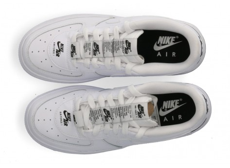 Chaussures Nike Air Force 1 Double branding Junior vue dessus