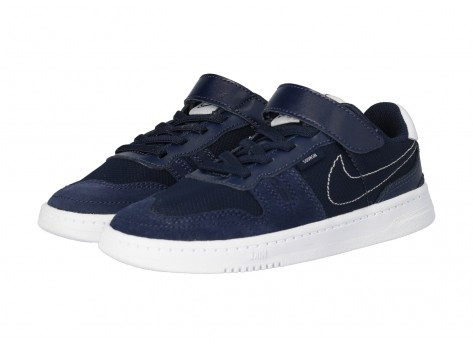 Chaussures Nike Squash Type marine PS vue intérieure