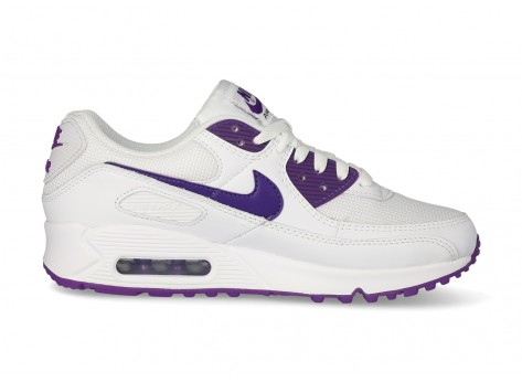 Nike Air Max 90 OG blanc violet - Chaussures Baskets homme - Chausport