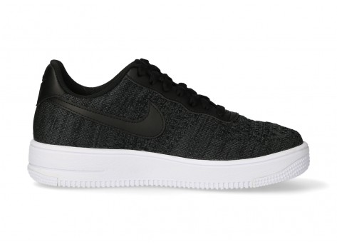 Nike Air Force 1 Flyknit 2.0 noir blanc anthracite - Chaussures ...